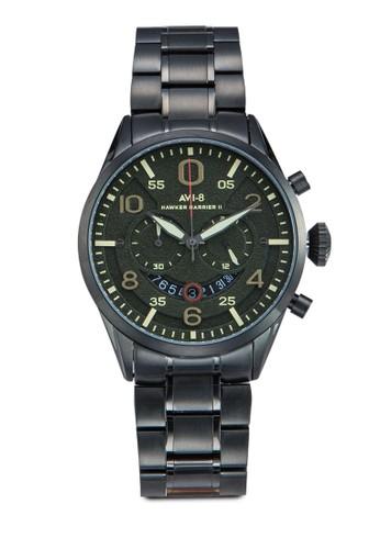 Hawker Harrier II 不銹鋼大圓錶, 錶類, 飾品配esprit 工作件