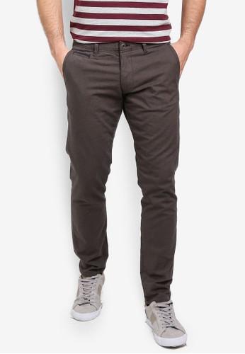 ESPRIT grey Woven Length Service Pants 046DDAA757E76DGS_1