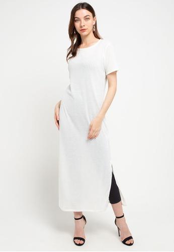 CHANIRA LA PAREZZA white Chanira Riana Long Dress Off-white 67229AAF2CBE21GS_1