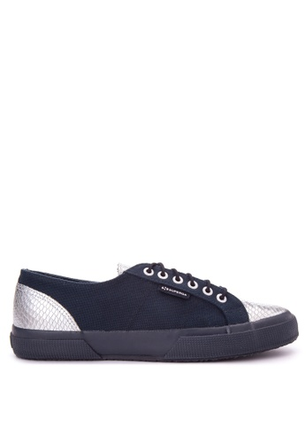 Superga navy 2750-Cotleasnakeu Sneakers SU138SH0JF7FPH_1