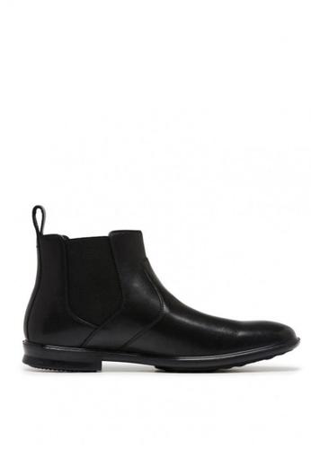 Hush Puppies black Carter Boots 659F4SHC0B1EFCGS_1