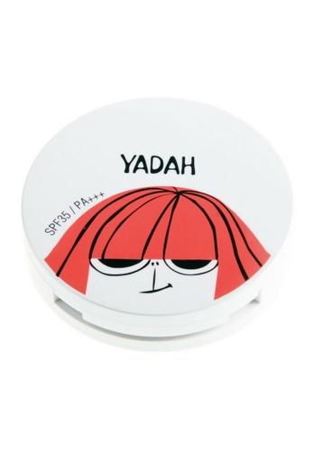 Yadah beige Air Powder Pact (19 Light Beige) YA399BE0F163SG_1