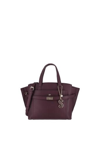 SEMBONIA red Top-Handle Satchel Bag 1933AACD572B34GS_1
