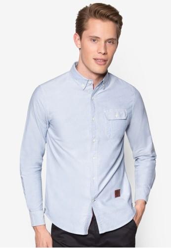 Long Slesprit 會員eeve Woven Shirt, 服飾, 襯衫