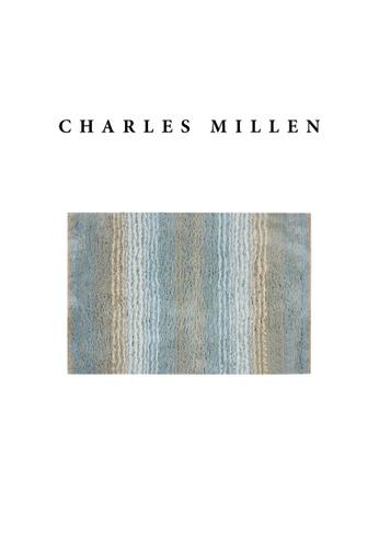 Charles Millen blue SET OF 2 Charles Millen TL1889 Mia Microfibre Anti-Slip Bath Mat 40x60CM C9149HL5EE0B8FGS_1