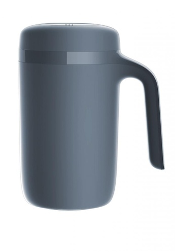Artiart grey Vitality Hill Thermal Suction Mug (Dark Grey) (Water Logo) Design by ArtiArt 28D26HL8CEB665GS_1