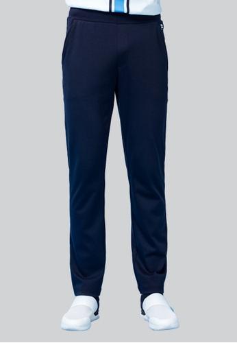 FILA navy Heritage Cotton Pant 603E8AAB47CEEEGS_1