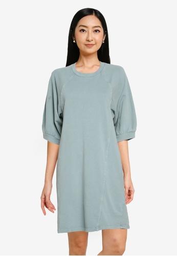 Noisy May grey Daria Short Sweat Dress 8F268AA150702AGS_1