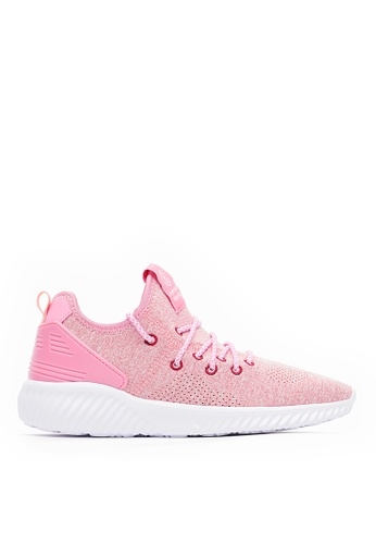 Life8 pink Lightweight Elastic Sport Shoes-09840-Pink 5BBEASH0C6D4C0GS_1
