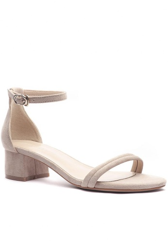 Twenty Eight Shoes Girly Ankle Strap Heeled Sandals 320-16 68677SHAA2B74EGS_1
