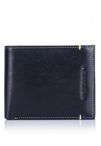 ENZODESIGN black New Design Italian Leather Wallet with Zip Coin Compartment EN115AC0KTTIPH_1