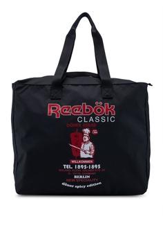 ee09764c6bf Reebok black Classic Graphic Food Tote Bag F1995ACA45E9B4GS_1