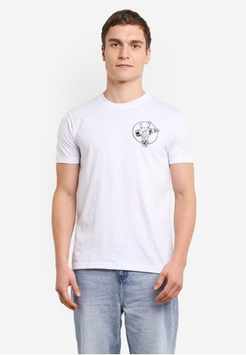 Graphite white I Am Awesome T-Shirt GR677AA0SCACMY_1