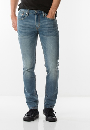 Levi's blue Levis® 511™ Slim Fit Performance Cool Jeans 0E0A8SHADDB896GS_1