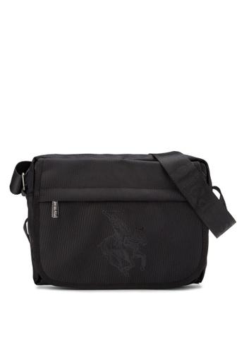 Swiss Polo black Swiss Polo Bag SW912AC89MGCMY_1