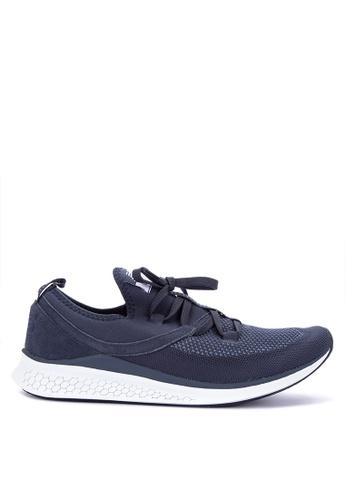 New Balance navy Lazr Mesh Fresh Foam Shoes DEC07SH2B9BB01GS_1