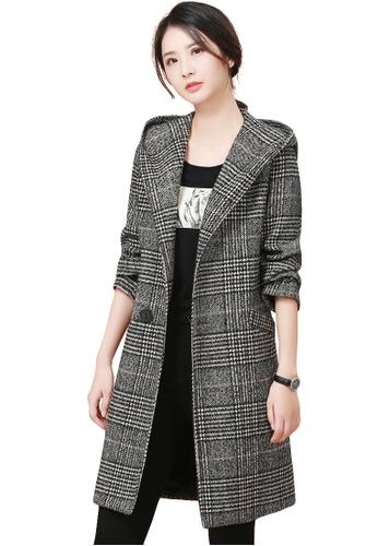 Buy A-IN GIRLS Temperament Hooded Long Coat  63430388adf