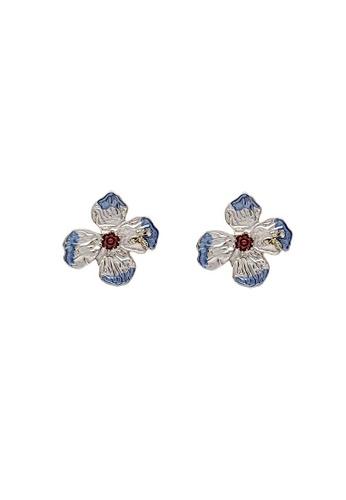 Glamorbit multi Floral Statement Earrings 4593AAC2BE3772GS_1