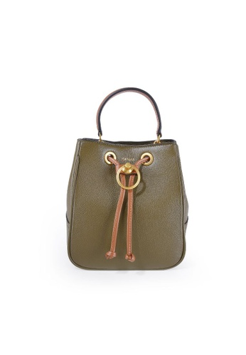 Esfolar green Esfolar Bucket Bag (EA190022) E69F7AC0AA0942GS_1