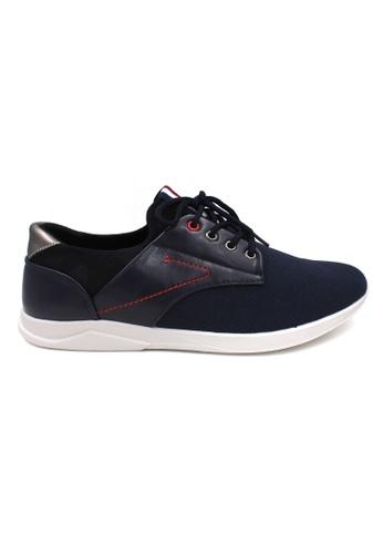 midzone navy EXO SCORPION Sneaker EX1707 Navy 09EEASHB3B07EAGS_1