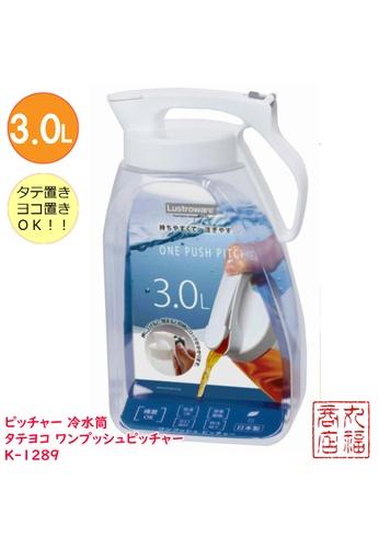 Lustroware Lustroware Water Pitcher-3L ( White ) 340D9HL1818FF5GS_1