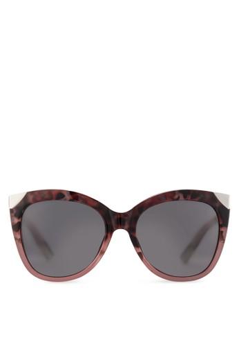 Kitty esprit holdings玳瑁貓眼太陽眼鏡, 韓系時尚, 飾品配件