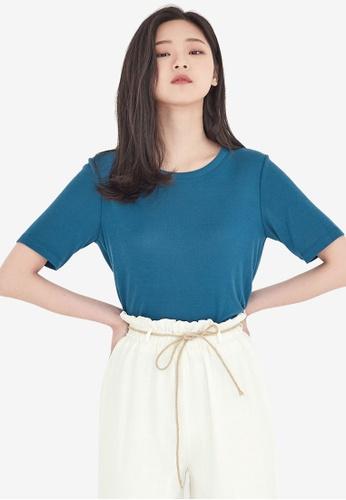 NAIN blue Slim Fit Top 07D7DAAEFBB2CEGS_1