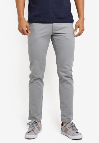 Marc & Giselle grey Khakis Long Pants C0AC6AADA29833GS_1