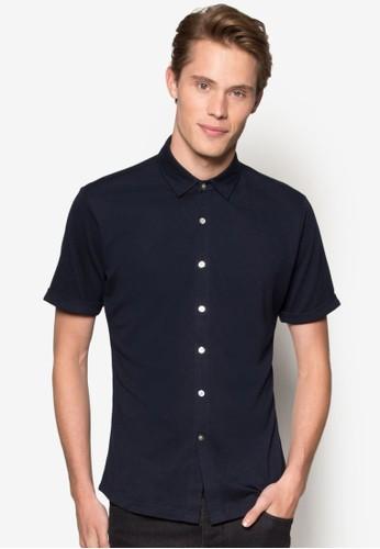 Pique 短袖襯衫、 服飾、 襯衫ZALORAPique短袖襯衫最新折價