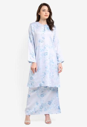 Butik Sireh Pinang blue Embun Kurung Pahang BU003AA0RYXGMY_1