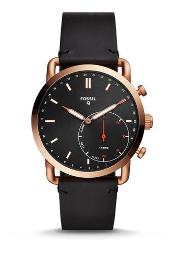 Fossil black Commuter Hybrid Smartwatch FTW1176 B8B6FAC71E6288GS_1