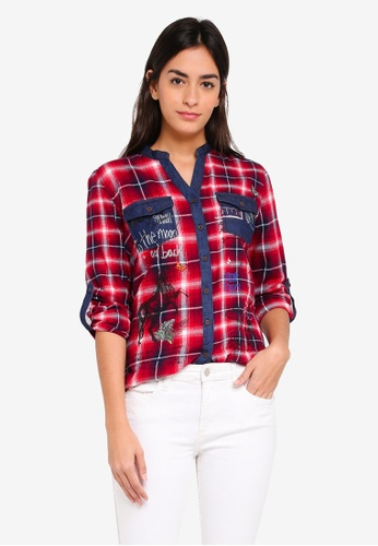1bbb6e3e41 Buy Desigual Sara Shirt Online on ZALORA Singapore