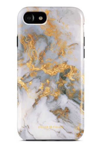 Polar Polar white Mist Marble Dual-Layer Tough Case Glossy For iPhone SE (2nd) / 8/7 24C35ACF784A01GS_1