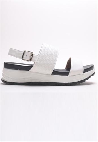 Crystal Korea Fashion white Korean Made Summer Comfortable 5cm Sandals CCCC1SHDEAB934GS_1