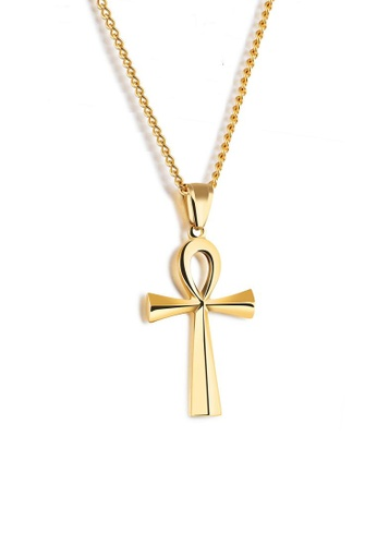 ADORA Stainless Steel Cross Pendent Necklace AD365AC2VR9CHK_1