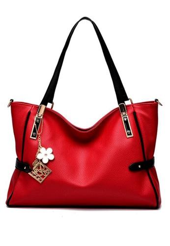TCWK red Ladies Handbag TC258AC76GCXMY_1
