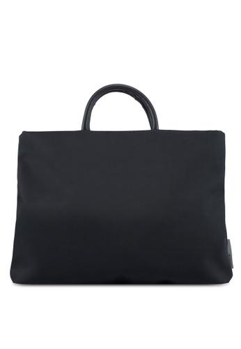 Bagstationz black Lightweight Nylon 15.6 Inch Laptop Bag 63340AC94DA30EGS_1