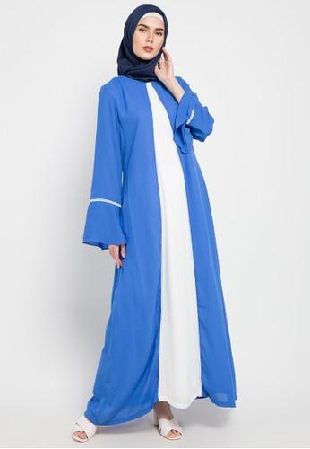 Aira Muslim Butik blue Asyifaa Dress 03B2BAA609B754GS_1