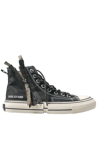 Twenty Eight Shoes High Top Canvas Zipper Sneakers XO-08-1 93C3CSH382E116GS_1