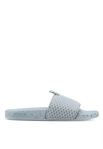 Slydes grey Cruz Sandals 71797SH17A2269GS_1