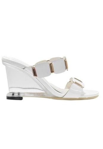 Sunnydaysweety white Big Sale Item - 2017 New Casual High Heel Shoes C070508W SU219SH0F99JSG_1