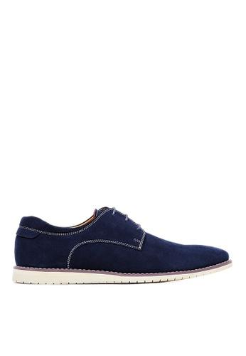 Life8 blue Men Nubuck Simple Casual  Shoes-09731-Blue LI286SH0SBV5MY_1