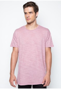 Hi-Low Textured Tee