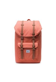6ff9aa84b1f Herschel orange Herschel Little America Backpack Apricot Brandy Saddle  Brown - 22L 65E7EAC3FC543DGS 1