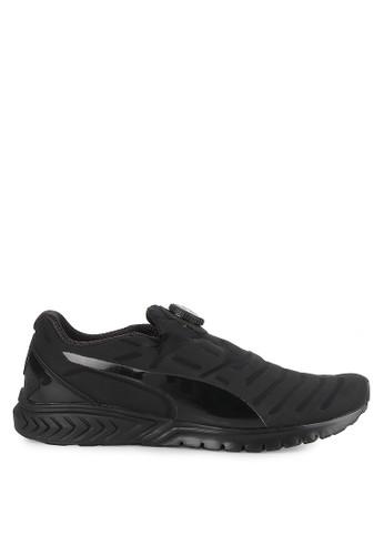 Puma black IGNITE Dual DISC Dip Shoes PU245SH0UPOKID_1