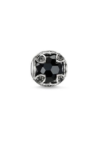 THOMAS SABO black Karma Bead Black Lotus 110D3AC65AB2E0GS_1