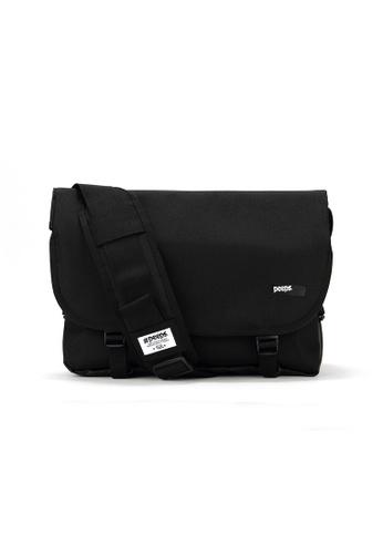 Peeps black Essential Messenger Bag 15CB4ACB2C4E0AGS_1