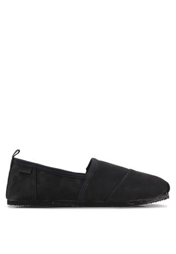 Superdry black Kai Slip On Shoes 5FD6CSHD8E5F24GS_1