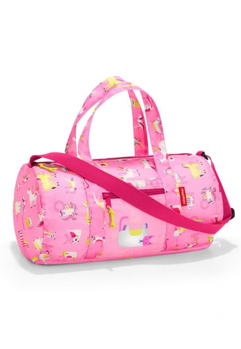 Reisenthel Mini Maxi Dufflebag S Kids ABC Friends Pink 5B4ACKC5C2550CGS_1