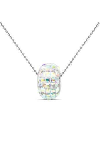 Her Jewellery multi Disco Ball Pendant (Rainbow) - Licensed Genuine Crystals from Swarovski® HE581AC0RES9MY_1